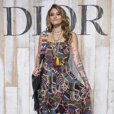 Paris Jackson abandona el Desfile de Dior en medio de una polémica... pero no abandona sus principios