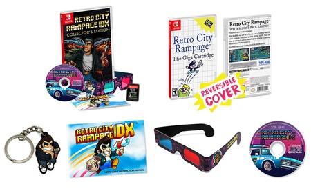 Retro City Rampage DX anuncia su espectacular (y asequible) edición de coleccionista para Switch
