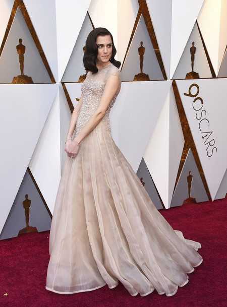 oscars 2018 red carpet allison williams