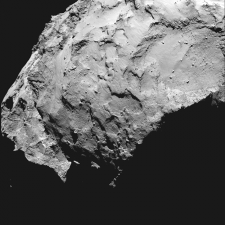 Philae S Primary Landing Site Node Full Image 2