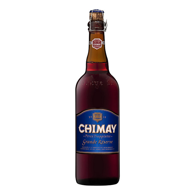 Cerveza tostada Bleue Grand Reserve Chimay