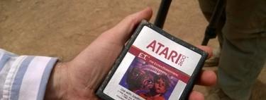 Los cartuchos de E.T. sí fueron enterrados por Atari y hoy salen a la luz