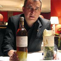 Qué hacer si se rompe una botella de vino de 110.000 euros