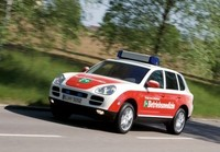 Porsche Cayenne S Emergency Vehicle