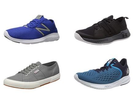 6 chollos en tallas sueltas en Amazon de zapatillas New Balance, Superga y Under Armour