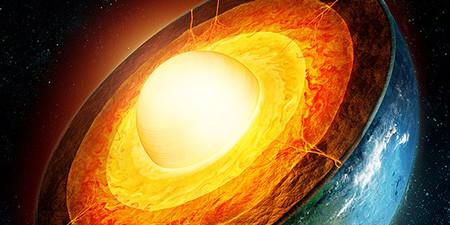 Lo que alimenta el campo magnético de la Tierra son cristales de cuarzo