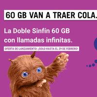 La nueva tarifa Doble Sinfín 60 GB de Yoigo incluye dos líneas con datos compartidos y llamadas ilimitadas por 39 euros al mes