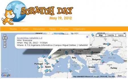 Scratc Day, el día internacional de enseñanza de Scratch