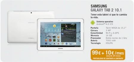 Yoigo incorpora a su oferta los Sony Xperia T y Tipo además de las Samsung Galaxy Tab 2 de 7 y 10 pulgadas
