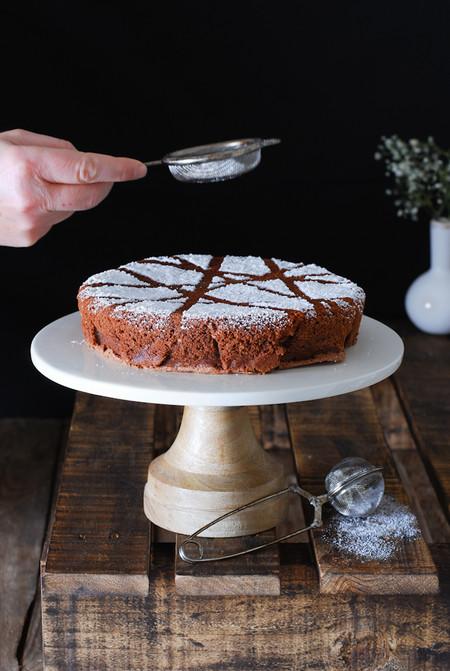 Torta Caprese Christmas Recipe Receta Navidad Dulces Bocados
