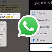 Novedades para WhatsApp en iOS: clips de voz uno tras otro, más respuestas a estados y cambios en la interfaz
