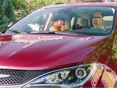 Chrysler ha decidido que los personajes de Plaza Sésamo sean los próximos usuarios de la Pacífica