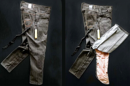 Jeans airbag