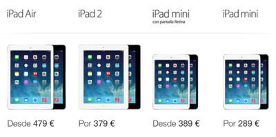 Un iPad para cada bolsillo