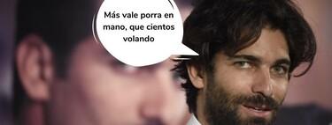El desnudo integral de Rubén Cortada haciéndole la competencia a Can Yaman