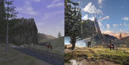 Este es el alucinante resultado de mezclar videojuegos retro con GauGAN, la tecnología de NVIDIA capaz de crear imágenes fotorrealistas