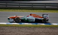 Vídeo del accidente de Max Chilton con el Marussia en el test de Jerez