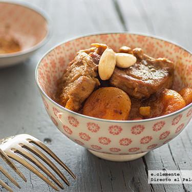 Solomillo de cerdo especiado con albaricoques secos: receta especiada con aires orientales