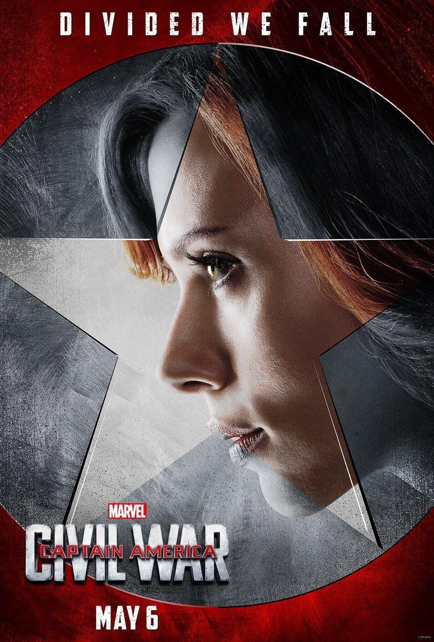Foto de 'Capitán América: Civil War', nuevos carteles de los protagonistas (10/11)