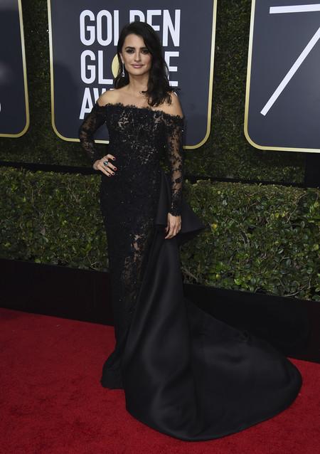 Alfombra Roja Globos De Oro 2018 Penelope Cruz Ralph Russo