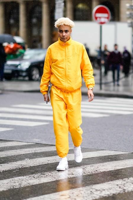 El Mejor Street Style De La Semana Se Pinta De Un Solo Color De Pies A Cabeza Este Otono 13