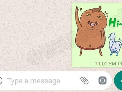 WhatsApp nos deja ver algunos de sus nuevos (y horribles) stickers en su beta para Android
