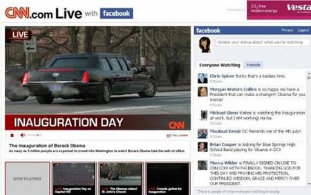 La CNN y Facebook dan alas a la televisión 2.0 con el acto de Obama