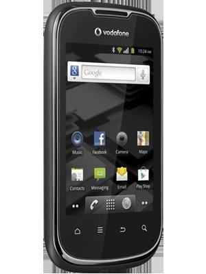 Vodafone Smart II en negro