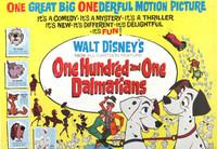 Disney: '101 dálmatas', de Clyde Geronimi, Hamilton Luske y Wolfgang Reitherman