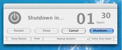 Super Shut Down: Programa la hibernación, apagado y reinicio de Mac OS X