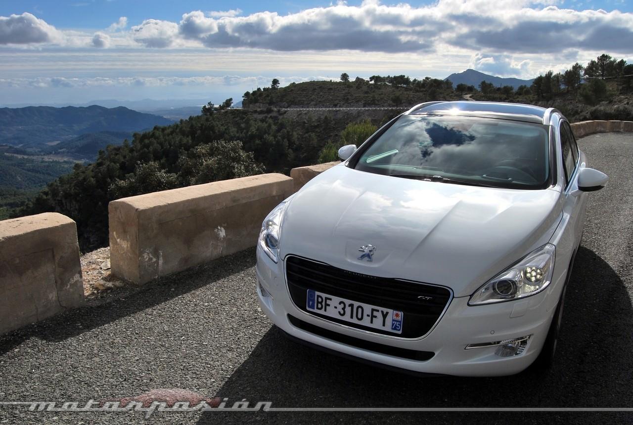 Foto de Peugeot 508 y 508 SW (presentación) (8/118)
