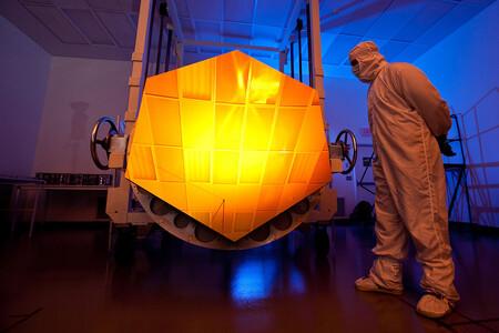 450 1000 El espejo dorado para el James Webb es el más sofisticado espejo jamás construido y desnudará el universo
