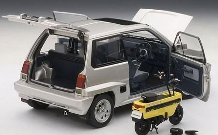 Así era la Honda Motocompo: la fallida moto plegable que cabía en el maletero de un kei car