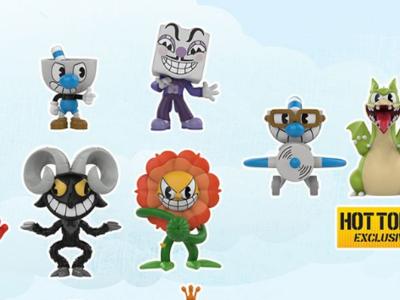 Funko ampliará la colección de figuras de Cuphead con sus jefes finales y con otras tantas de Halo