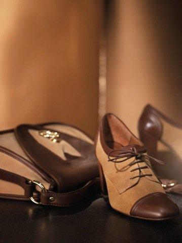 Uterque zapato bicolor