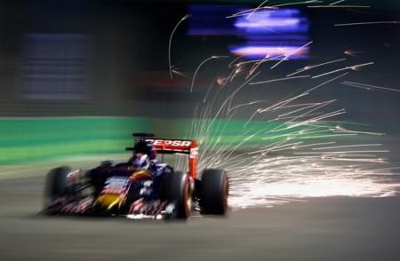 Max Verstappen Gp Singapur F1 2015