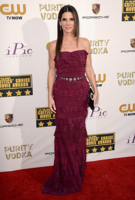 Sandra Bullock Critics Choice Awards 2014