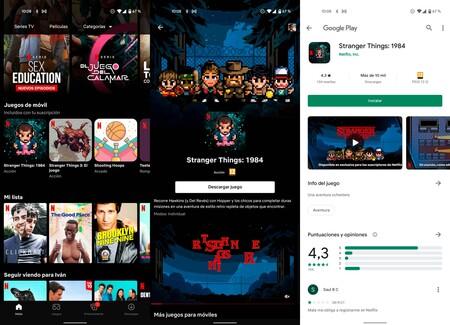 Netflix Juegos App