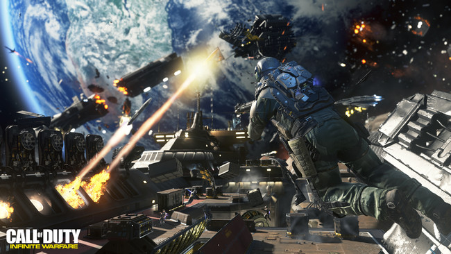 Call Of Duty Infinite Warfare Espacio