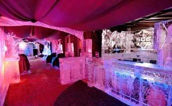 Bar de hielo en Montreal