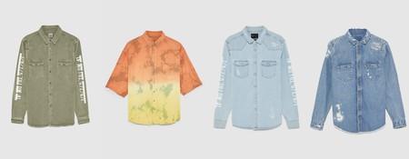 Camisas En Denim Para Un Verano Rebelde Pero Con Estilo