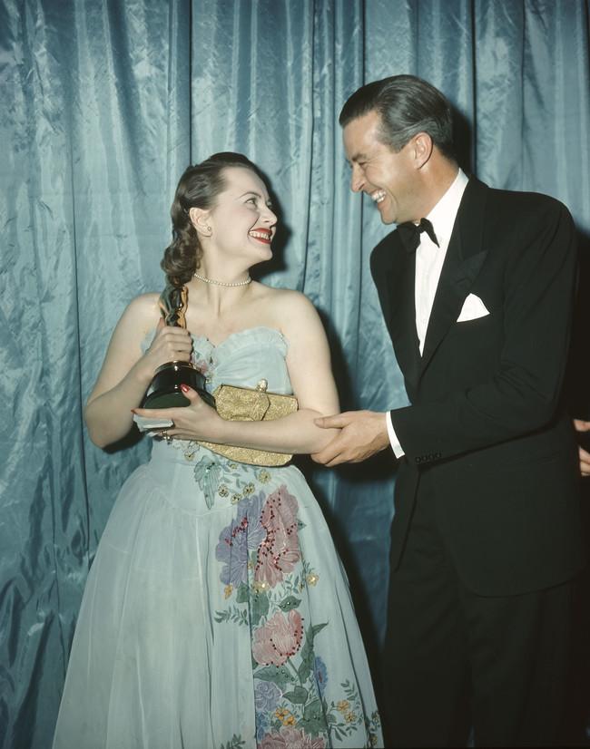 Olivia De Havilland En Los Oscar 1947