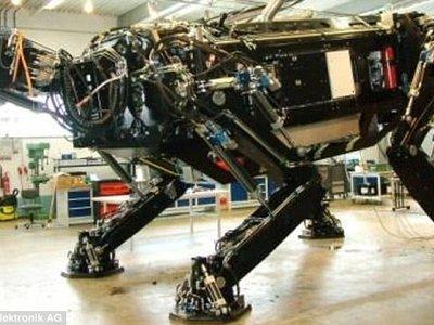 Éste es el robot andante más grande del mundo