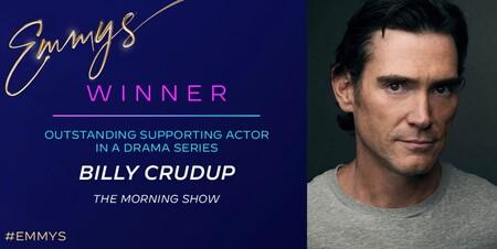 Apple TV+ se lleva un emmy por el papel de Billy Crudup como actor secundario en 'The Morning Show'
