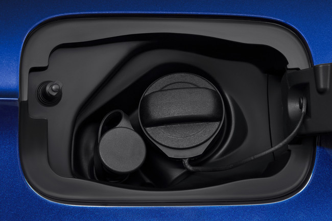 Audi A3 Sportback g-tron, tapa de combustible