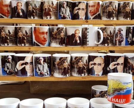 Vladimir Putin convertido en merchandising: así vive Rusia el culto a su personalidad