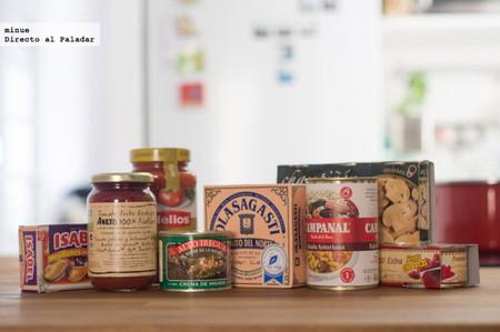Qué bien se puede comer utilizando latas y conservas