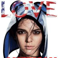 Kendall Jenner irrumpe en la portada de Love Magazine