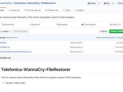 'WannaCry File Restore', la herramienta de Telefónica para recuperar archivos afectados por el ransomware