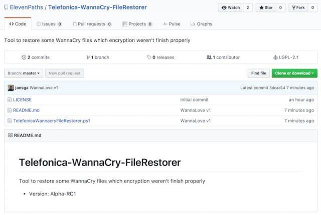 Wannacry File Restore